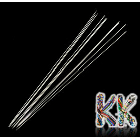 Beaded needles - extra long - 79 mm - thickness 0.4 mm