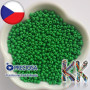 Opaque seed beads of the Czech brand Preciosa with a bead diameter of 3.5 mm with a hole for a 1 mm thread.THE LISTED PRICE IS FOR 1 g (minimum order is 10 g).