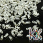 Adhesive tip made of a cylindrical zinc alloy with a colored surface finish designed to terminate bracelets and necklaces with an inner diameter of 1.2 mm.THE PRICE IS FOR 1 PCS.