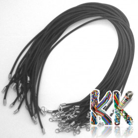 Rubber cord with cabaret - length 42.5 cm