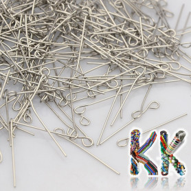 Stainless steel looping needle - 40 mm (11 pcs)