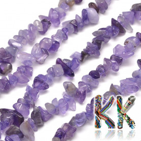 Natural amethyst fractions - 4-10 x 4-6 x 2-4 mm - 5 g