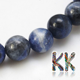 Natural sodalite - ∅ 8 mm - ball - quality A