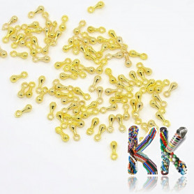 End cap for extension chain - 7 x 2.5 mm