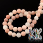 Tumbled round beads made of natural pink aventurine with a diameter of 4 mm and a hole for a thread with a diameter of 1 mm. The beads are absolutely natural without any dye. Country of origin: China THE PRICE IS FOR 1 PCS.