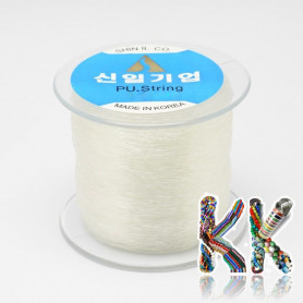 Polyester fiber - clear - ∅ 1 mm - roll 100 meters