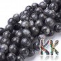 Tumbled round beads made of labradorite mineral with a diameter of 10 mm with a hole for a thread with a diameter of 1 mm. The beads are absolutely natural without any dye. Country of origin: Norway THE PRICE IS FOR 1 PCS.