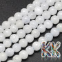 Tumbled round beads made of natural mineral blue calcite with a diameter of 6 mm with a hole for a thread with a diameter of 1 mm. The beads are completely natural without any dye. Country of origin: Madagascar THE PRICE IS FOR 1 PCS.