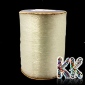 Polyester fiber - clear - ∅ 1 mm - roll 1000 meters