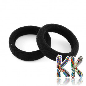 Elastic fabric rubber band for hair - thickness 30 mm