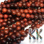 Beads made of real Santo rosewood with a diameter of 6 mm and a hole for a thread with a diameter of 1 mm. The beads are absolutely natural, without any coloring. In addition, the beads have their typical scent.Country of origin of the bead production: ChinaTHE PRICE IS FOR 1 PCS.