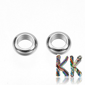 304 Stainless steel separating bead - ring - ∅ 5 x 2 mm