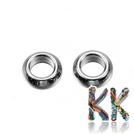 304 Stainless steel separating bead - ring - ∅ 4 x 1.5 mm