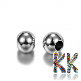 304 Stainless steel separating bead - ball - ∅ 8 x 7 mm