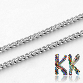 304 Stainless steel chain - eye 2.7 x 2 x 0.5 mm - coil 10 meters