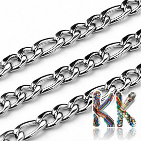 304 Stainless steel chain - eyelet 4-6 x 3 mm - coil 10 meters