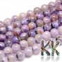 Tumbled round beads made of rare natural charoite with a diameter of 8 mm with a hole for a thread with a diameter of 1 mm. The beads are absolutely natural without any dye. Country of origin: Russia THE PRICE IS FOR 1 PCS.
