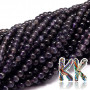 Tumbled round beadsmade of natural mineral iolite with a diameter of 6 mm with a hole for a thread with a diameter of 1 mm. The beads are completely natural without anydye. Country of origin: Brazil THE PRICE IS FOR 1 PCS.