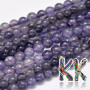 Tumbled round beads made of natural mineral iolite with a diameter of 4.5-5 mm with a hole for a thread with a diameter of 1 mm. The beads are completely natural without any dye. Country of origin: Brazil THE PRICE IS FOR 1 PCS.