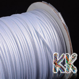 Waxed Korean polyester cord - ∅ 1 mm - coil 83 meters