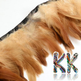Dyed rooster feathers - 110-300 x 28-62 mm