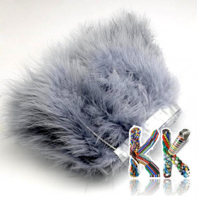 Dyed feathers of marabou stork - 120-190 x 28-56 mm