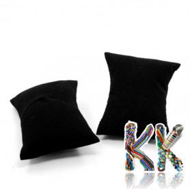 Velvet cushion for bracelets and watches - 88 x 76 x 43 mm