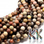 Tumbled round beads made of mookaite mineral with a diameter of 10 mm with a hole for a thread with a diameter of 1 mm. The beads are completely natural without any dye. Country of origin: Madagascar THE PRICE IS FOR 1 PCS.