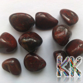 Brown howlite - not drilled without hole - 10-15 x 10-15 x 10-15 mm