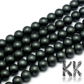 Confused synthetic nemag. hematite - ∅ 8 mm - ball - quality AA