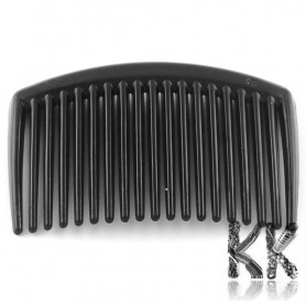 Plastic comb for hair - 45-45 x 65-66 x 3-4 mm