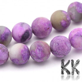 Natural matte charity - ∅ 8 mm - colored ball