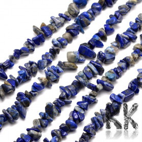 Natural sodalite - fractions - 5 x 8 - 5 x 8 mm - weight 5 g (approx. 4.5 cm)