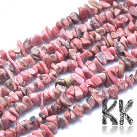 Natural rhodonite - fragments - 7 x 12 - 2 x 4 - weight 5 g (approx. 5 cm)
