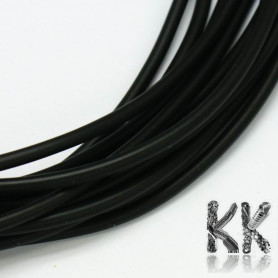 Rubber cord - ∅ 2 mm - length 1 meter
