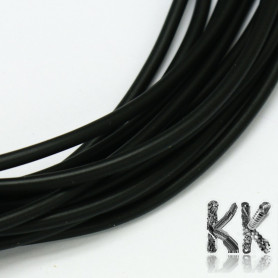 Rubber cord - ∅ 1.5 mm - length 1 meter