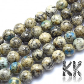 Natural azurite - ∅ 8 mm - ball - quality AB