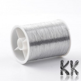 Metal cord - thickness 0.1 mm - roll 55 m