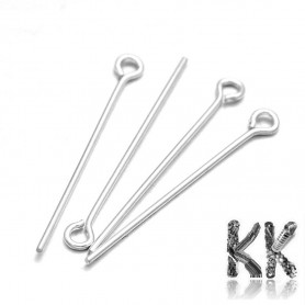 Knitting needle made of sterling silver (925 Ag) - 30 mm