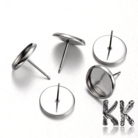 Puzeta made of 304 stainless steel - ∅ beds 10 mm (1 pair)