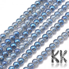 Glass beads - plated - ∅ 8 mm