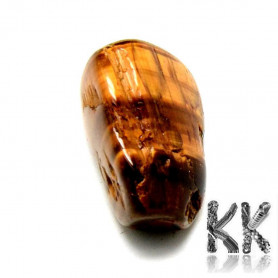 Natural tiger eye - non-drilled stone - 20-37 x 16-22 x 9-17 mm