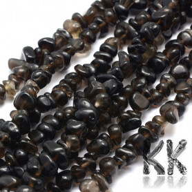 Natural smoky - fragments - 5-8 mm - weight 1 g (approx. 1 cm)