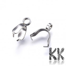 Flap made of 304 stainless steel - 11 x 9 x 3 mm