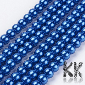 Waxed pearls - ∅ 8 mm - beads