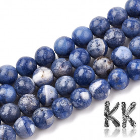 Synthetic blue coral - Ø 8 mm- ball