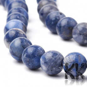 Synthetic blue coral - Ø 6 mm- ball