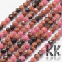 Tumbled and faceted beadsmadeof natural rhodonite mineral with a diameter of 2 mm with a hole for a thread with a diameter of 0.5 mm. The beads are completely natural without any dye. Country of origin China THE PRICE IS FOR 1 PCS.