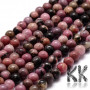 Tumbled round beads made of natural mineral rhodonite with a diameter of 8 mm with a hole for a thread with a diameter of 1 mm. The beads are completely natural without any dye. Country of origin China THE PRICE IS FOR 1 PCS.