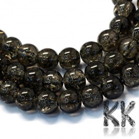 Cracked glass beads - Ø 8.5-9 mm - colored balls